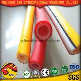 Gelber Hochzeits-Schlauch der Belüftung-flexibler glatter Oberflächenabsaugung-Hose/PVC
