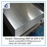 Le produit plat ASTM A653 doucement complètement a dur galvanisé la bobine en acier