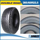Première usine en gros de pneu en doubles pneus radiaux de camion de la route Dr816 de la Chine 385/65r22.5-20ply-Brand