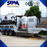 Mobile Stone Crusher Plant, Mobile Crusher te koop