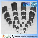 モーターのためのR100xr70X180degreex55mm Y35アークの亜鉄酸塩の磁石
