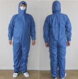 Heiße Verkaufs-billig schützende nichtgewebte Gewebe-Overall-/Sicherheits-Wegwerfkleidung