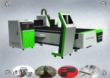 máquina do cortador do laser do router do CNC da fibra 500W para o metal de folha