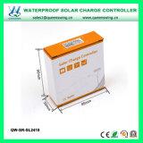 Auto12V/24V 10A imperméabilisent le contrôleur solaire de charge de PWM pour la batterie au lithium (QW-SR-SL2410)