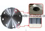 A flange cega industrial de aço de carbono forjou a flange a ASME B16.5