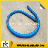 Tubo flessibile ad alta pressione di conclusione della pompa per calcestruzzo di spirale del filo di acciaio