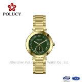Robe de luxe de bracelet de montre-bracelet de mode de chaîne occasionnelle neuve d'acier inoxydable