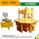 Ineinander greifen, den Block pflasternd, der Maschine herstellt