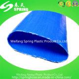 Tuyau plat posé par PVC flexible