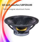 18pzb100 super Spreker 18 Duim Subwoofers van het Woofer van DJ voor Verkoop
