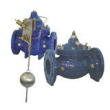 固定水位制御弁(GL100D)のまっすぐな構造/角度の構造