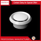 Diffuseur de plafond circulaire de couleur blanche Valve de disque en plastique