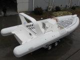 熱い対エンジンを搭載する堅く膨脹可能なボートの肋骨730B -非常に