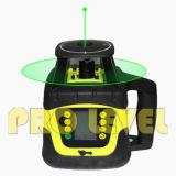 Verde nivelación automática Nivel dual de láser rotativo con pantalla LCD grande (SRE-207G)