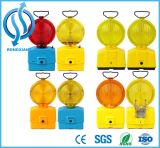 6V 4r25電池内のこはく色および黄色カラー安全トラフィックの警報灯
