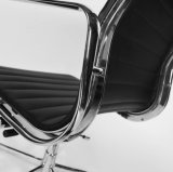 Présidence en aluminium de gestionnaire d'hôtel/bureau de cuir d'émerillon d'Eames (RFT-B02)