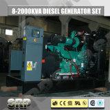 50Hz Open Diesel die van het Type 182kVA Generator door Cummins wordt aangedreven