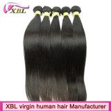 Волосы заплетения оптовой монгольской девственницы людские