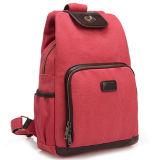 O saco de escola da mochila da trouxa da lona Backpacks a mochila do algodão