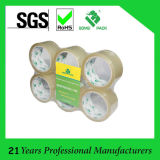 6 Rolls Tube Shrink OPP Transparent Cinta Packing Tape (KD-0362)