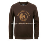 Холодное Mens Long Sleeve Fleece Sweater с Print Logo