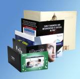 Affissione a cristalli liquidi sottile di carta di vendita calda una video scheda da 5.0 pollici