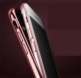 iPhone iPhone 6/6sのためのEletroplating +TPUの瑪瑙の電話シェルの保護金属の装甲移動式箱と7 7s