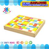 Kind-hölzerner Schreibtisch spielt Entwicklungsspielwaren-Baustein-hölzernes Puzzlespiel (XYH-JMM10009)