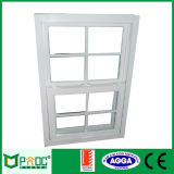 Aluminium gehangenes Fenster mit Gitter aussondern