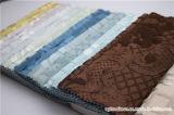 ホーム織物のための厚いジャカード綿ポリエステルベロアファブリック