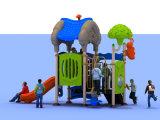 2015 Preschool привлекательных рециркулируют пластичную спортивную площадку