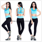 Pantalones corrientes de la aptitud del sujetador del desgaste de la gimnasia de mujeres de la alta calidad