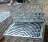 Reja galvanizada suelo del acero de la galvanización de la INMERSIÓN caliente