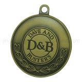 Emblema redondo do metal da medalha do emblema do esmalte do ouro