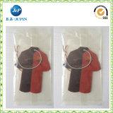 Kundenspezifisches hochwertiges hängendes Papierauto-Luft-Erfrischungsmittel mit langlebigem Duft (JP-AR075)