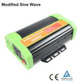 inversor modificado alta freqüência da potência de onda do seno 1000W com USB