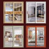 الألومنيوم الملونة الانزلاق النافذة الاختياري للمكفوفين داخل (FT-W85)