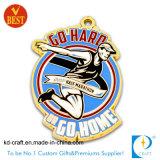 중국 주문 금속 포상 운영하는 스포츠 마라톤 메달