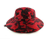 Camo Cotton Cowboy Bucket Hat с вышивкой 3D