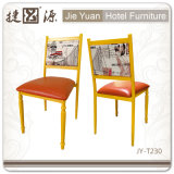 Стальное Thickness 1.0mm Red Restaurant Chair (JY-T231)