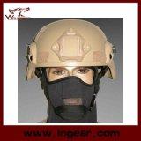 De militaire Helm Ach van Mich 2000 met Nvg zetten & de Helm van de Versie van de Actie van het ZijSpoor op