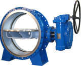 API 609/Awwa Vatac Cast Steel u. Iron Wafer/Flanged Butterfly Valve