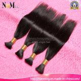 8A sin procesar coser en cabello brasileño / indio / malasia / peruano Virgen tejido a granel de pelo