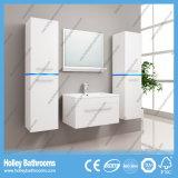 La luz LED caliente interruptor del tacto de alto brillo de pintura Gabinete de baño Vanidad-B807D