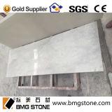 Kundenspezifischer weißer MarmorCountertop, Eitelkeits-Oberseiten, Carrara-Weiß-Marmor