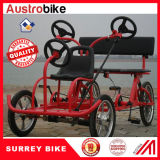 Bike Surrey персоны трейлера 4 Bike Surrey с трейлером 2 персон