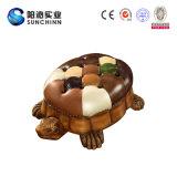 Sofà a forma di del Tortoise di cuoio con memoria (SCSO00002)