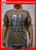 T-shirt en gros chaud d'hommes d'impression de modèle de Pyrography fait sur commande neuf de mode