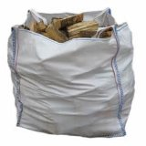 Bulk senza coperchio Bag per Packing Firewood