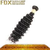 熱い販売の人間の毛髪のよこ糸100の人間のRemyの毛の拡張